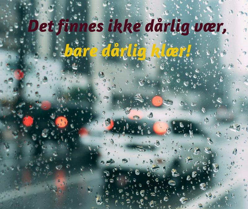 Ga jij met de fiets als het regent?