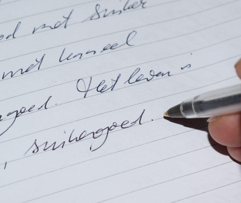 Schrijven moeilijk? Maak schrijven makkelijk in 3 stappen!