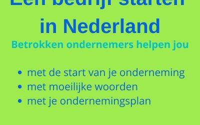 Wil je ook erbij horen? Een bedrijf starten in Nederland voor ambitieuze nieuwkomers.