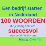100 woorden succesvol bedrijf